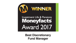 Moneyfacts, Best Discretionary Fund Manager